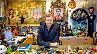 Mark parker et ses oeuvres d'art