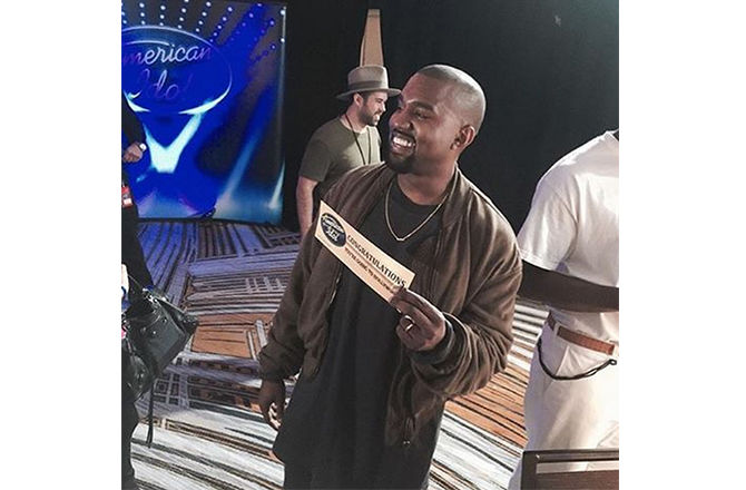 Kanye West crée la surprise pour American Idol