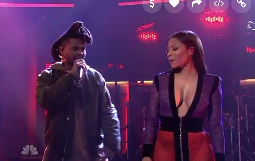 The Weeknd et Nicki Minaj live au SNL !