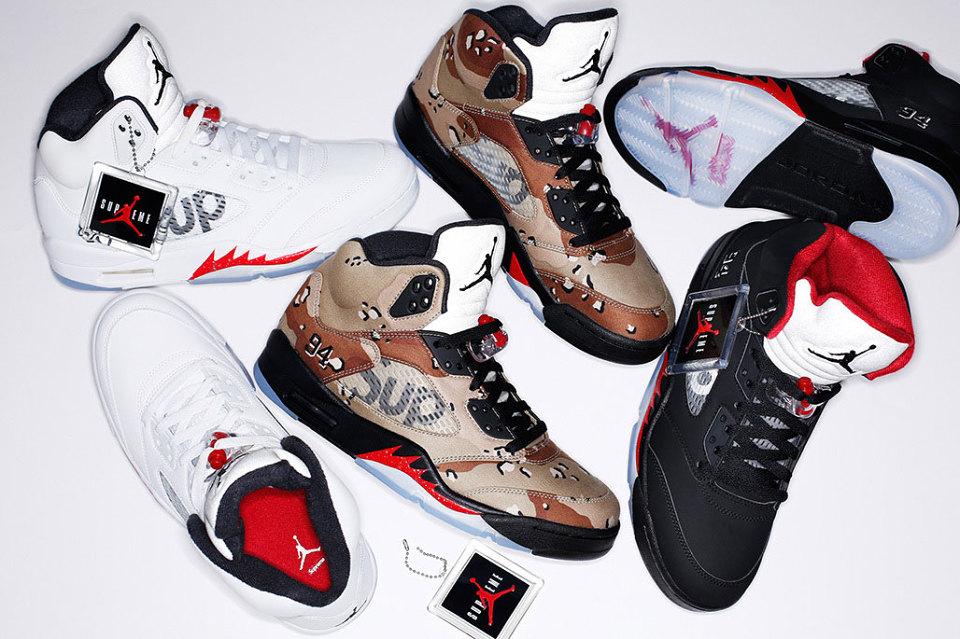 Supreme x Jordan : les meilleures photos Instagram