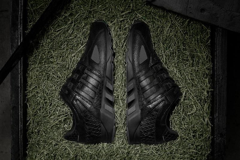 Pusha T collabore avec Adidas pour la EQT Guidance Running '93 Black Market