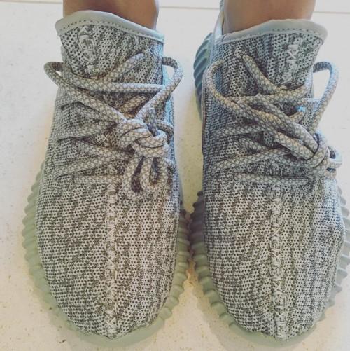 adidas yeezy femme grise