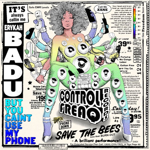 Erykah Badu sort la mixtape « But You Caint Use My Phone » inspirée par Drake