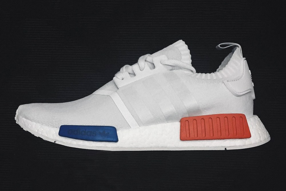 adidas original nmd blanche