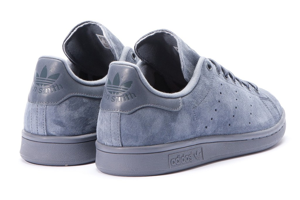 adidas stan smith grise daim