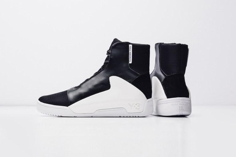 adidas Y-3 Hayworth Mid Core Noir/Blanc