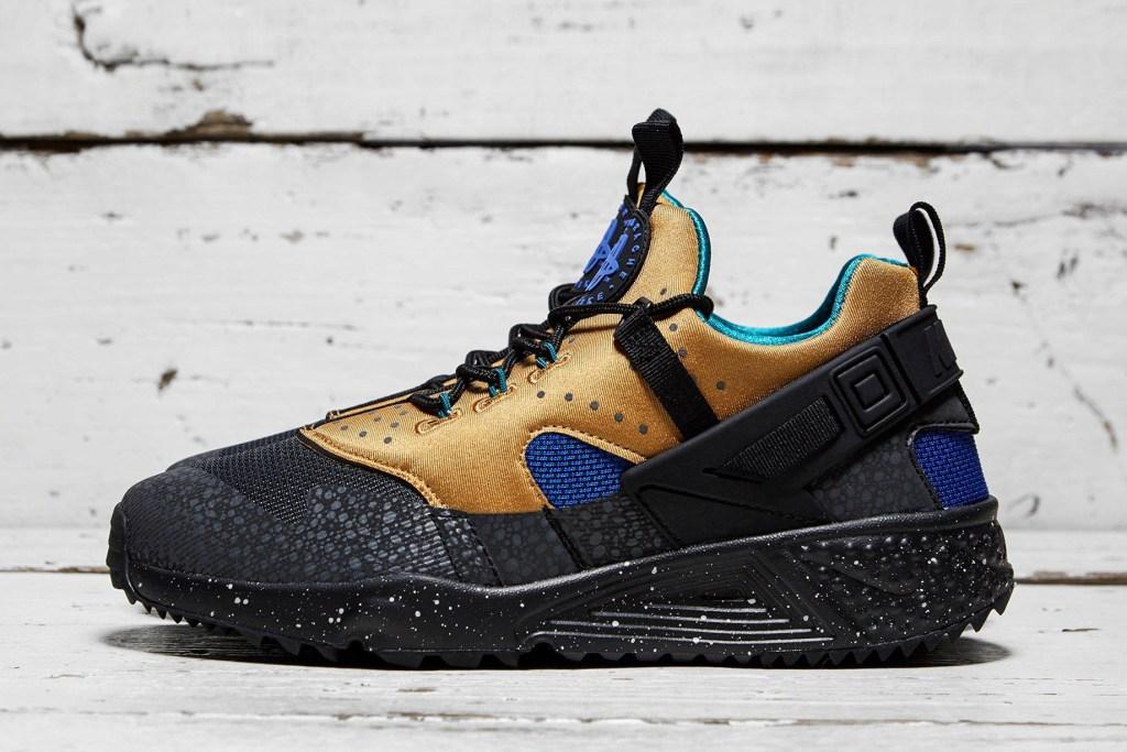 Nouvelle déclinaison pour la Nike Air Huarache avec la Utility «ACG Tan and Blue»