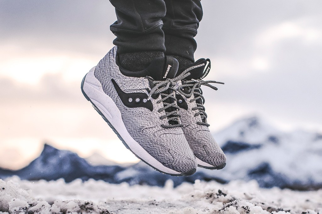 Saucony dévoile sa Grid 9000  » Dirty Snow  »
