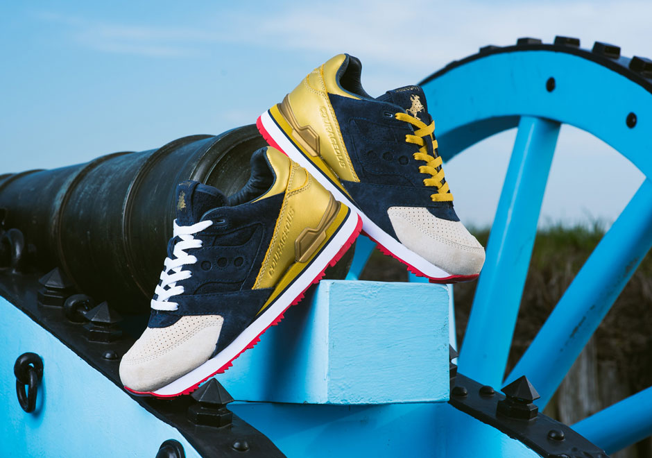 Saucony x Sneaker Politics : une nouvelle Courageous