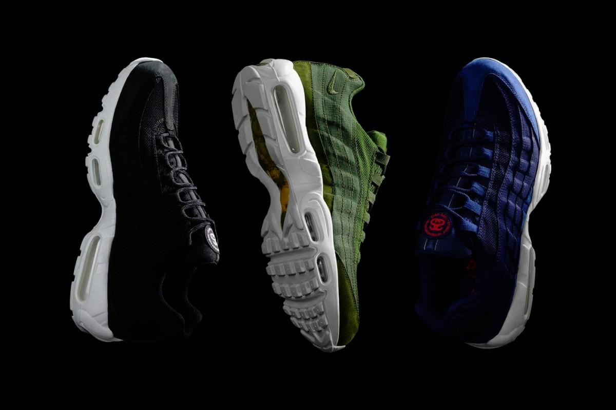Stussy collabore avec Nike sur la Air Max 95