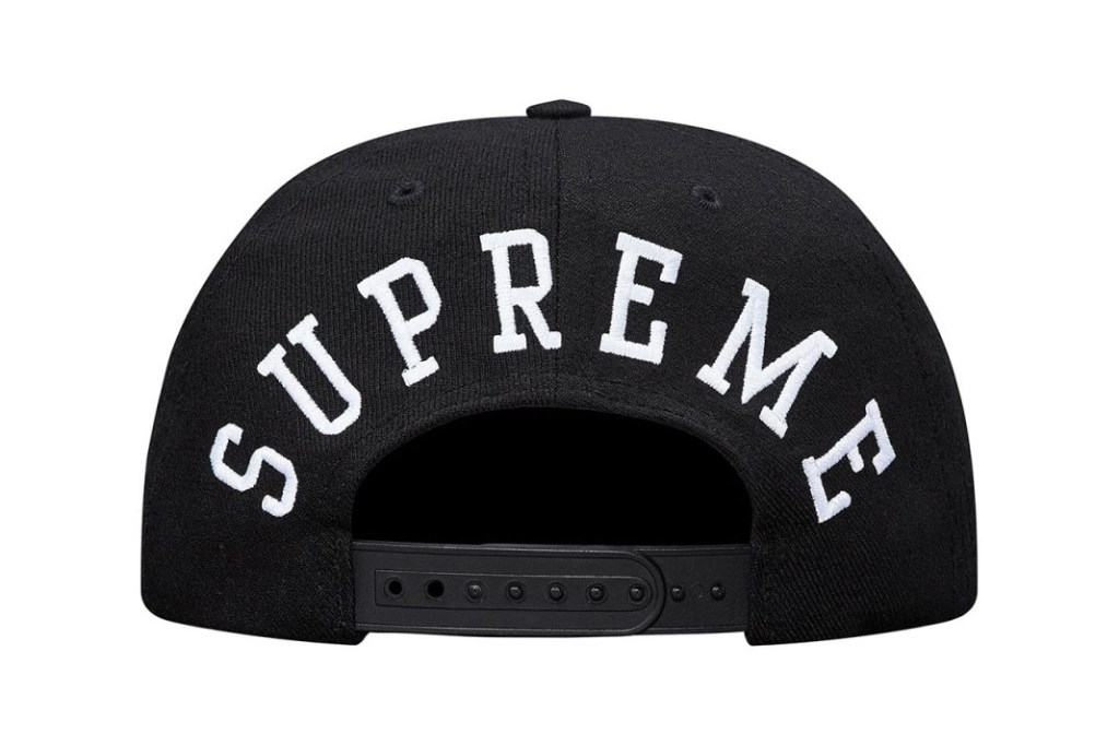 Supreme et Champion collaborent à nouveau pour une collection de snapback
