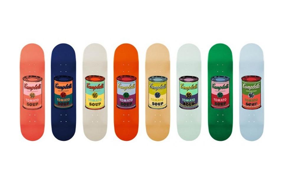 The Skateroom x Andy Warhol, la planche caritative