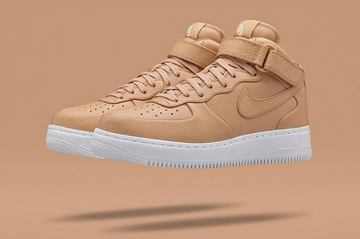 NikeLab charme avec sa Air Force 1 Mid « Tan »