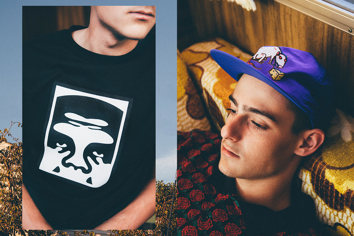 OBEY parachute son éclectique et dopant lookbook printemps 2016