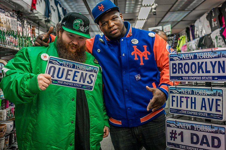 Action Bronson et Meyhem Lauren égéries de la collection Packer Shoes x Starter