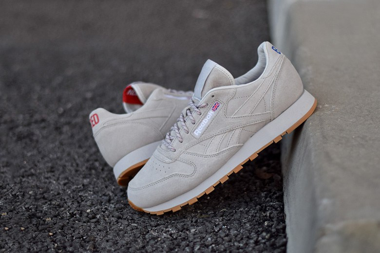 Reebok Classic Leather Femme Beige escargot-de-monceau.fr 71795a399c36