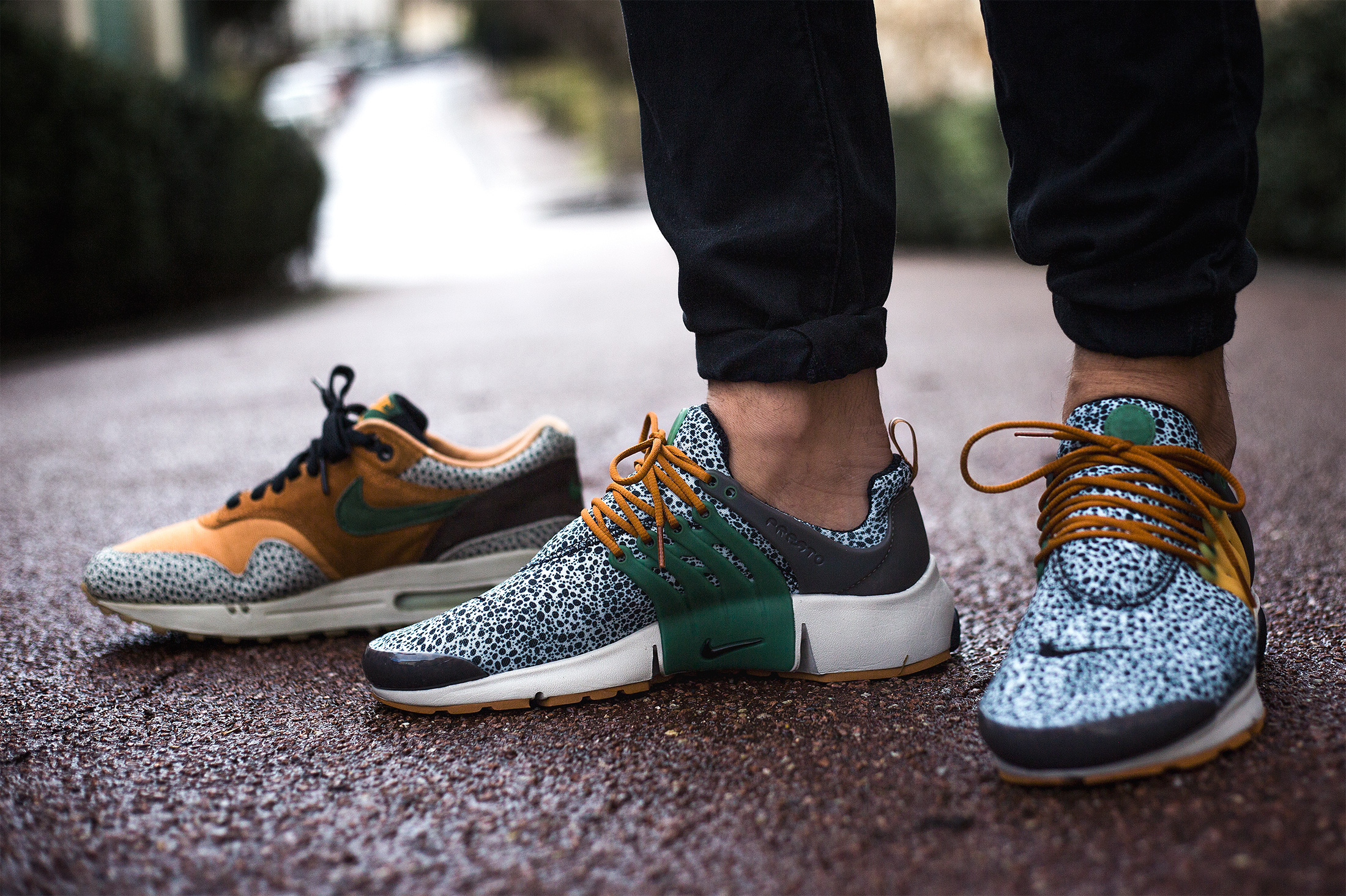 La Nike Air Presto « Safari »