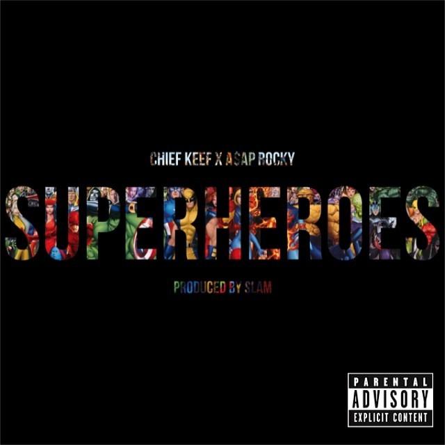 Chief Keef et A$AP Rocky jouent les Superheroes
