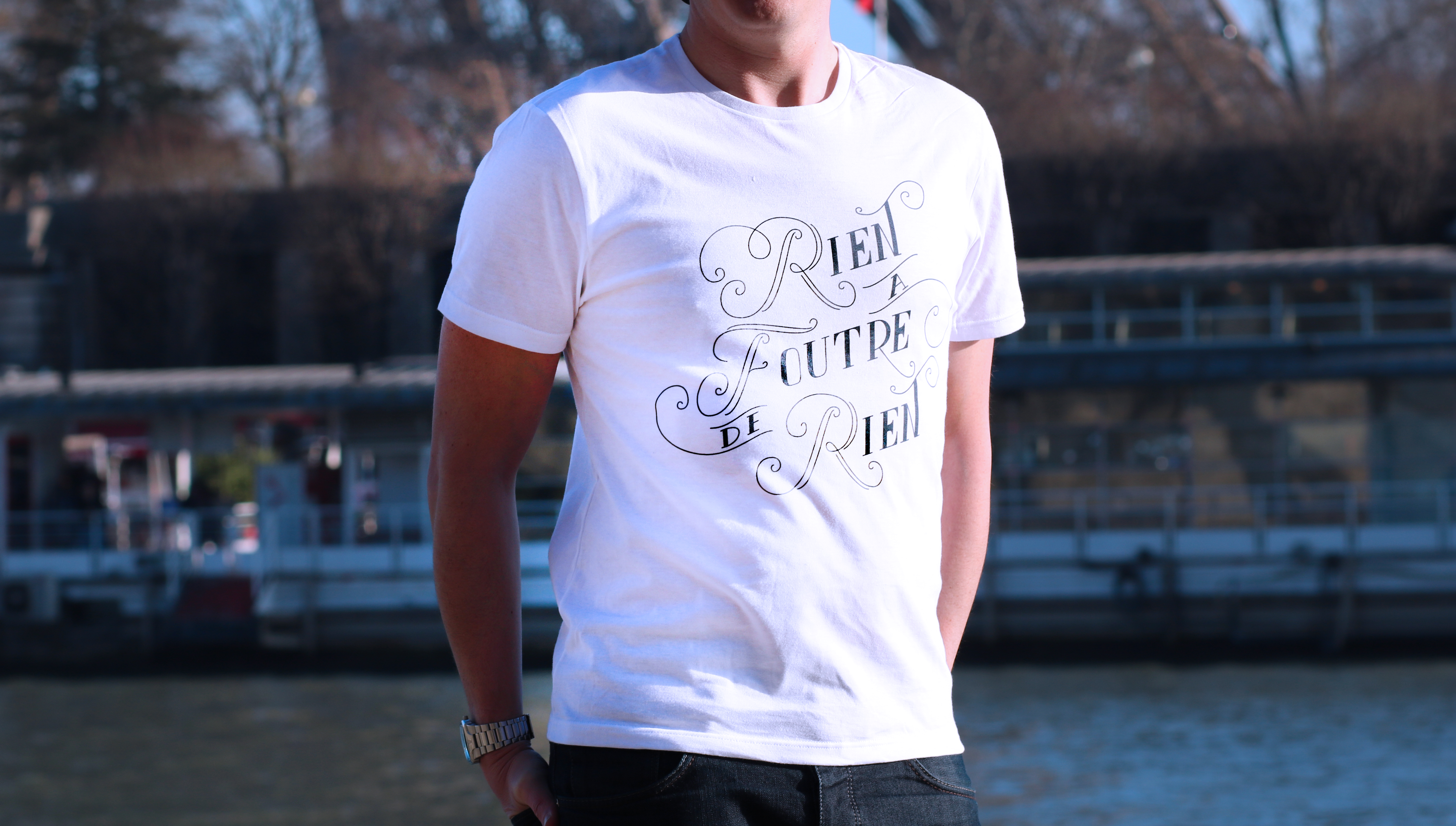 Rien à Foutre - Tshirt Made in France