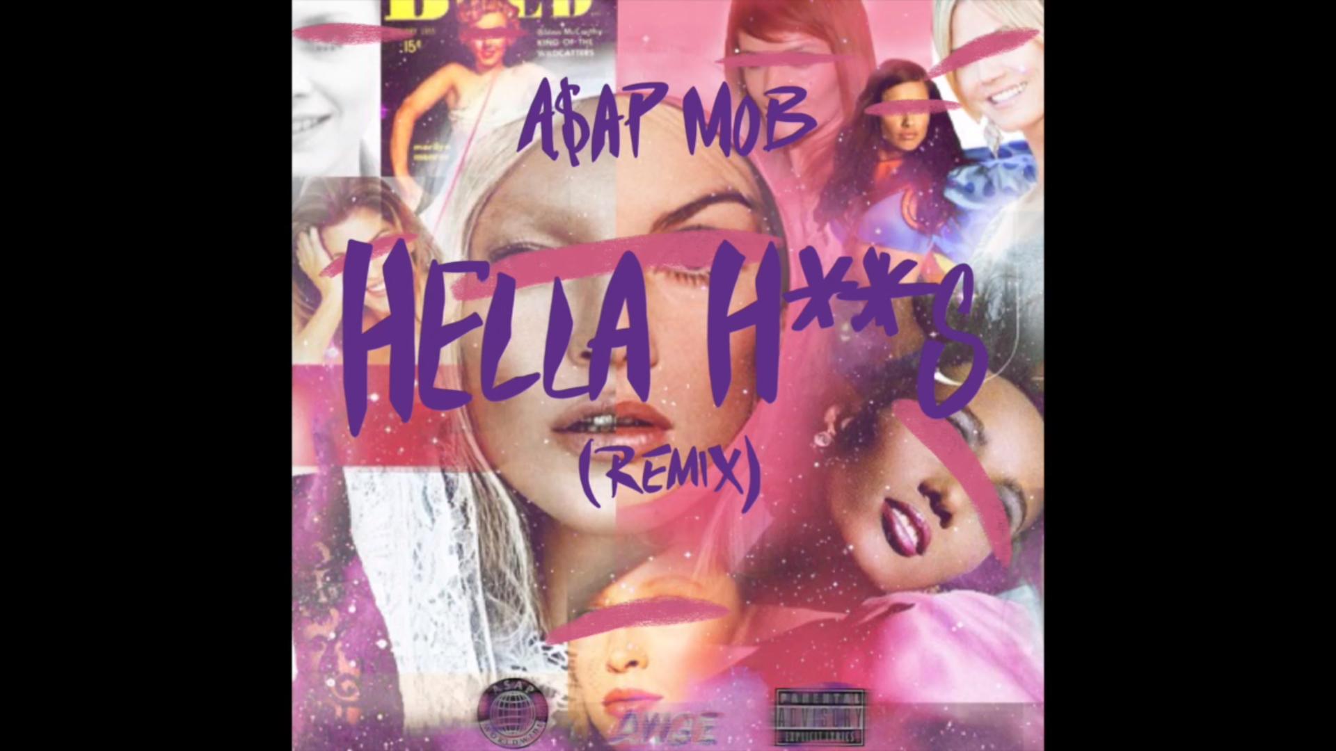 A$AP Mob remixe «Hella Hoes» avec Danny Brown et Aston Matthews