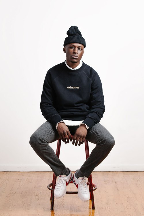 Aimé Leon Dore : sweat collection hiver 2015