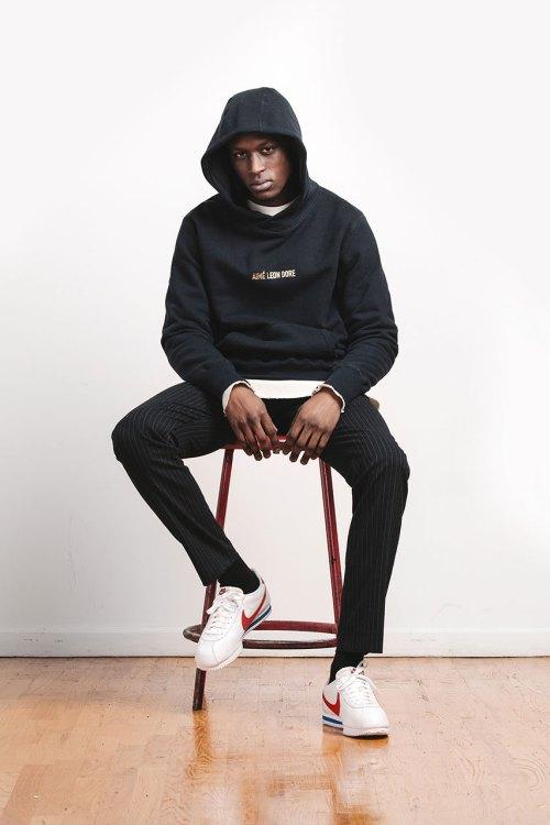 Aimé Leon Dore : hoodie collection hiver 2015