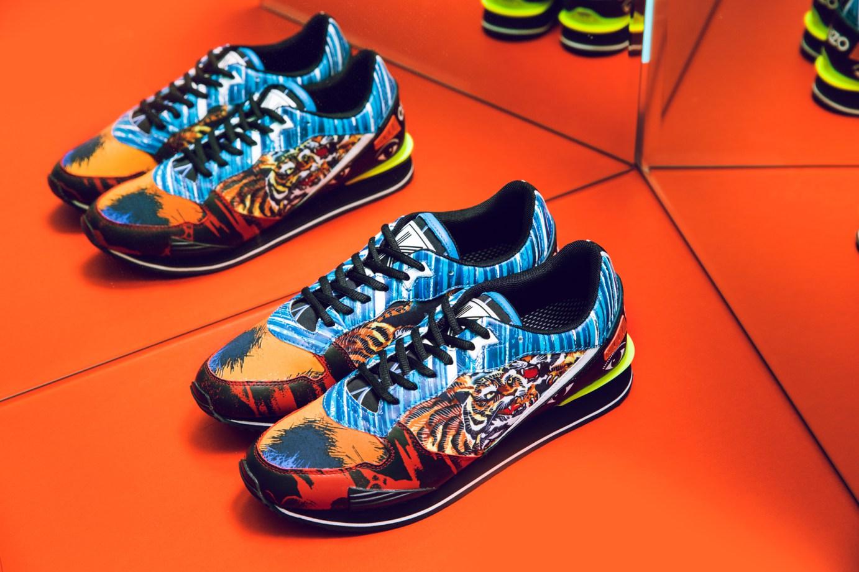 Kenzo Footwear affirme son identité pour sa collection printemps/été