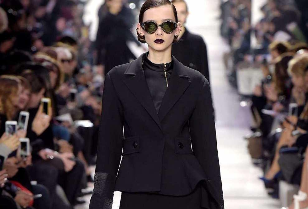 Défilé Dior automne hiver 2016/17