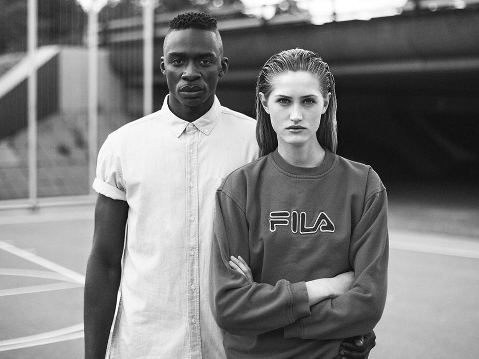 FILA adopte le style Retro pour sa collection printemps / été 2016