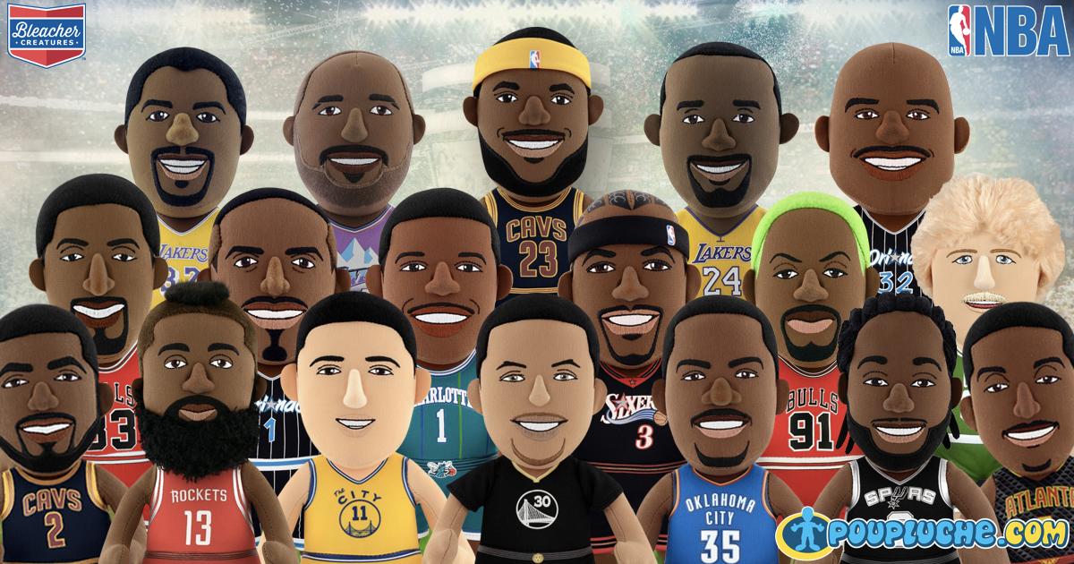 Gagnez votre Poupluche de joueur de la NBA !