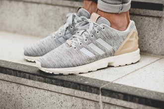 "L'adidas ZX Flux ""Solid Grey"""