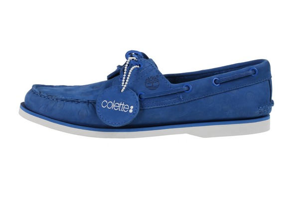 Timberland x Colette : Les chaussures bateau
