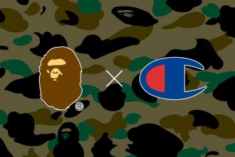 A Bathing Ape tease sa prochaine collab' avec Champion