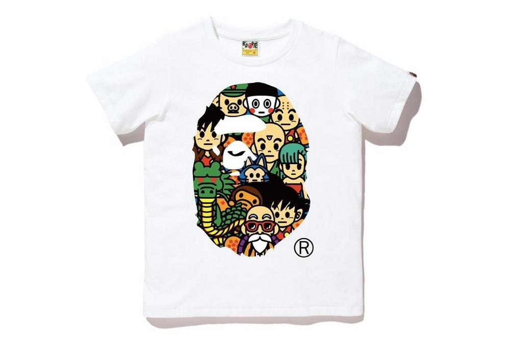A Bathing Ape x Dragon Ball : les premières images de la collection !