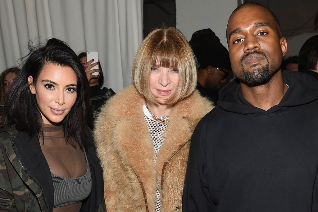 Anna Wintour s'excuse après son intervention sur le Yeezy Show 3
