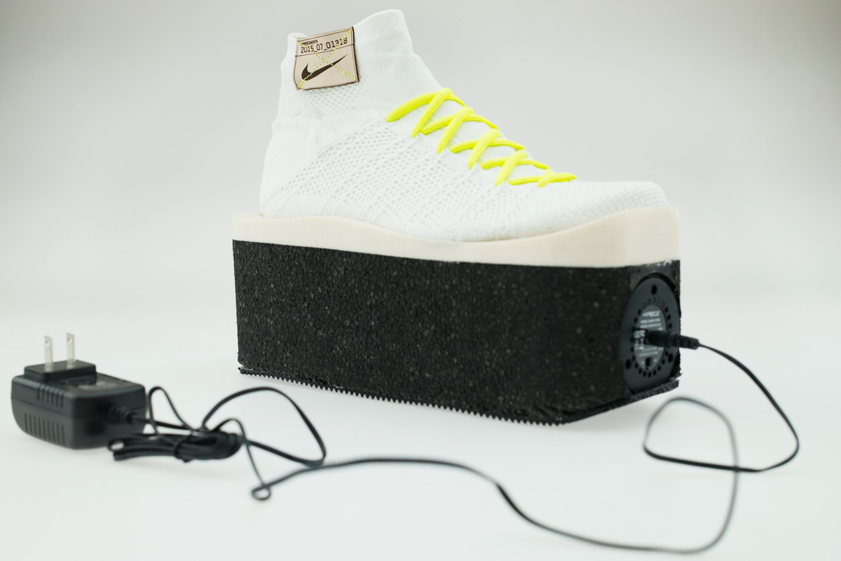 L'art de la sneakers de Nike à la Milan Design Week