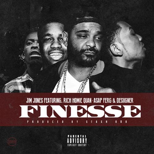 Jim Jones réunit A$AP Ferg, Rich Homie Quan & Desiigner sur «Finesse»