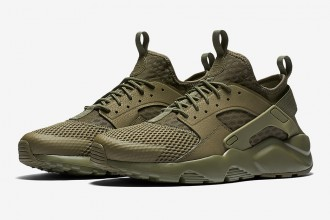 Nike équipe sa Air Huarache Ultra BR d'un nouveau colorway Medium Olive