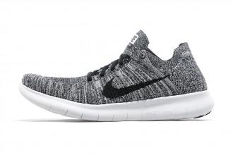 "Et Nike dévoila une nouvelle Nike Free RN Flyknit ""Oreo"""