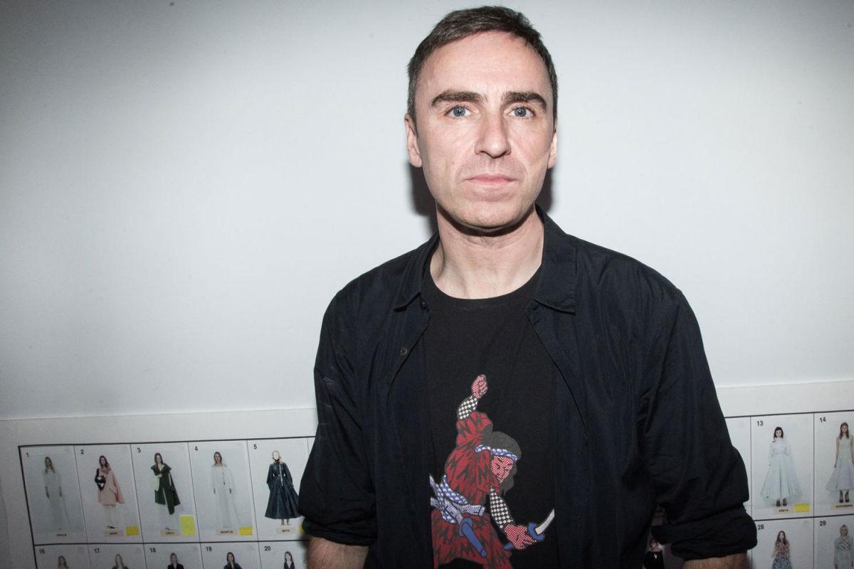 Raf Simons pourrait être le prochain directeur créatif de chez Calvin Klein