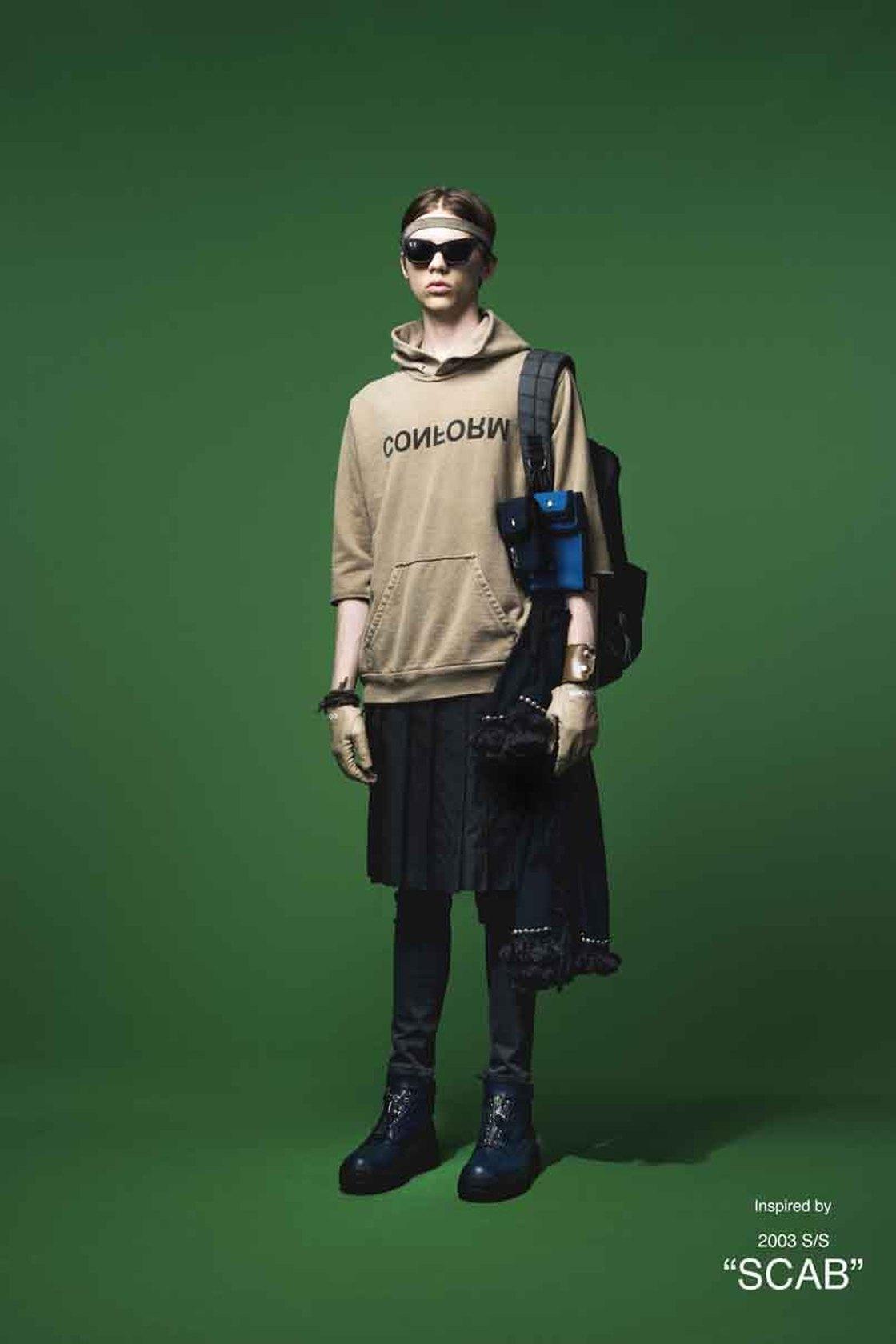 undercover conform hoodie