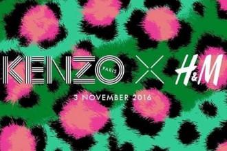 H&M et Kenzo s'associent et nous présente le teaser de leur prochaine collaboration