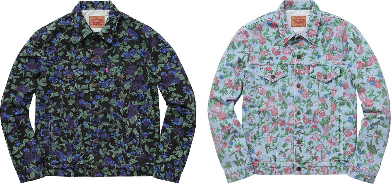 La veste en jean levi x supreme pour le printemps 2016