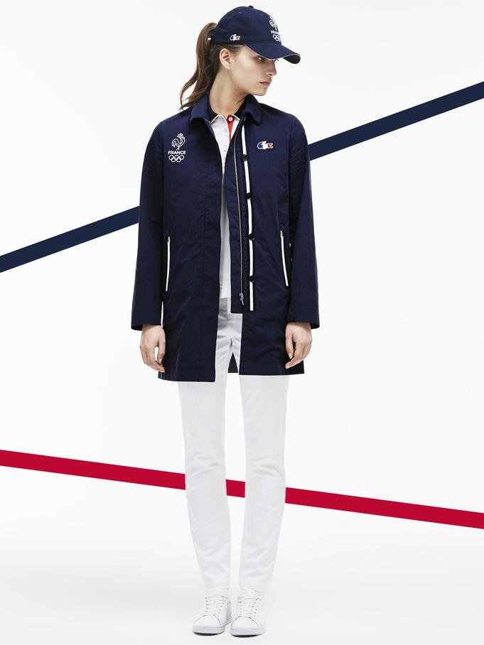 La collection Lacoste pour les jeux olympiques
