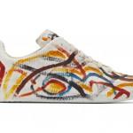 La Multicolor Chalk Replica Sneakers de Maison Margi