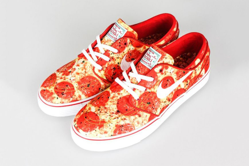 The Skate Mental x Nike SB : Une nouvelle Janoski à la pizza
