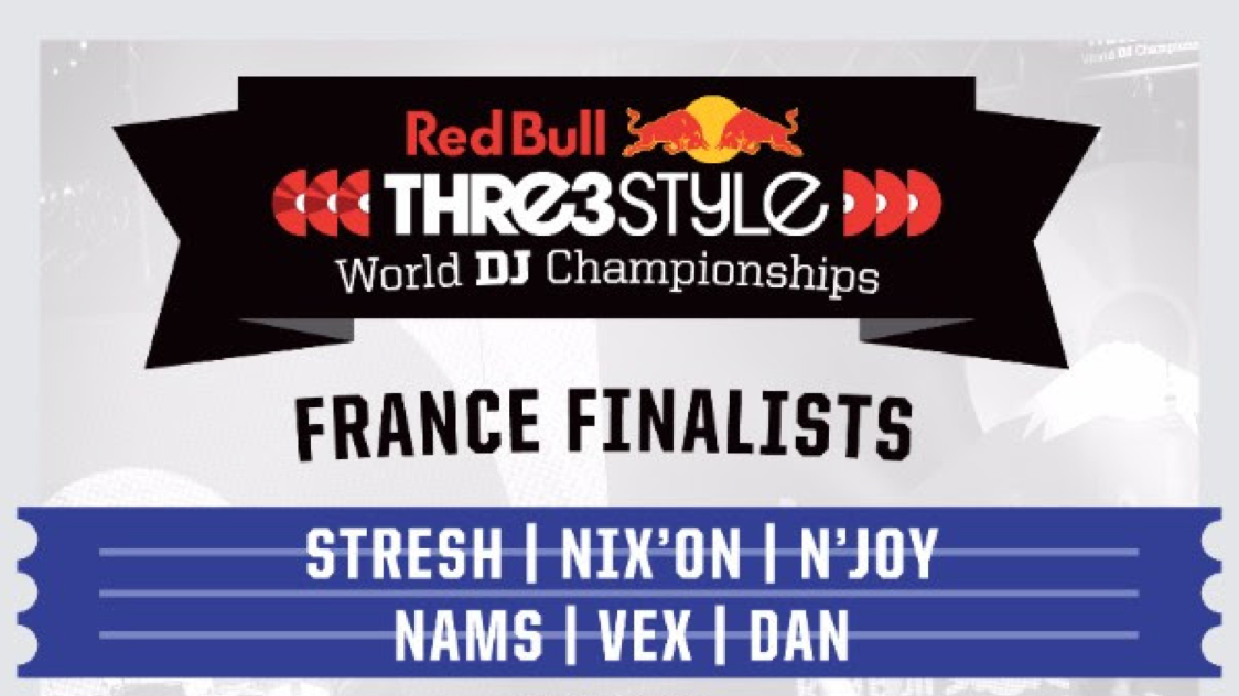 Concours : assistez à la competition de DJ's Red Bull THRE3STYLE !