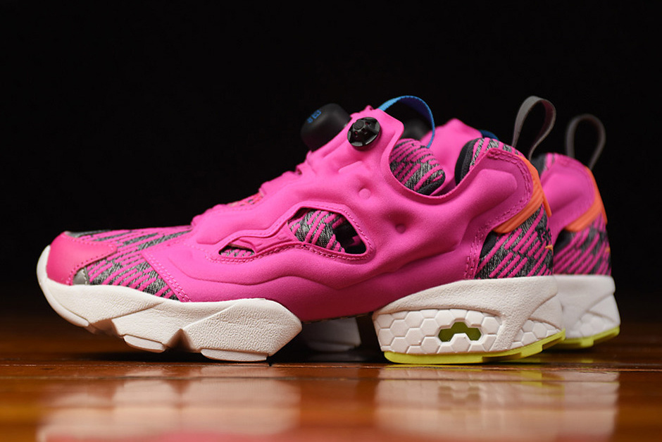 Reebok dévoile une Instapump Fury « Celebrate Pink » flashy