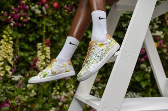Liberty et NikeCourt collaborent pour une collection fleurie