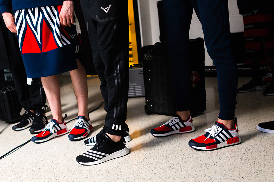 Adidas Originals et White Mountaineering collaborent pour quatre sneakers